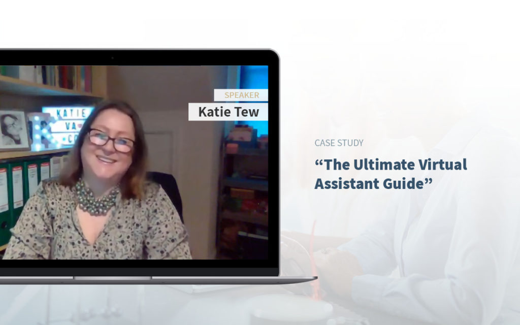 Executive Assistant Event - Katie Tew - How to become Virtual Assistants