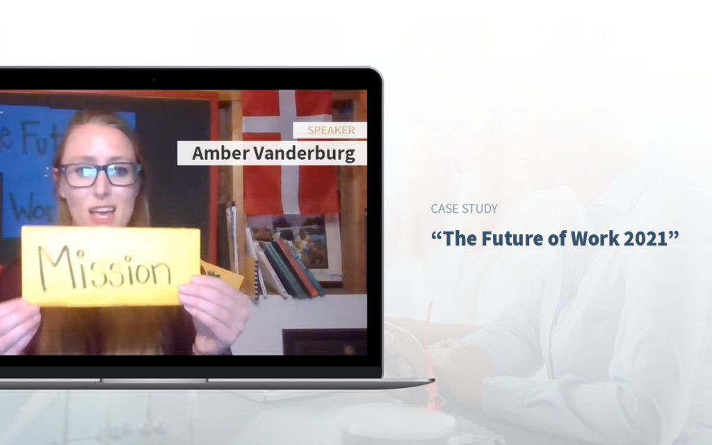 Executive Assistant Event - Amber Vanderburg - Executive Asisstants The future of work 2021.