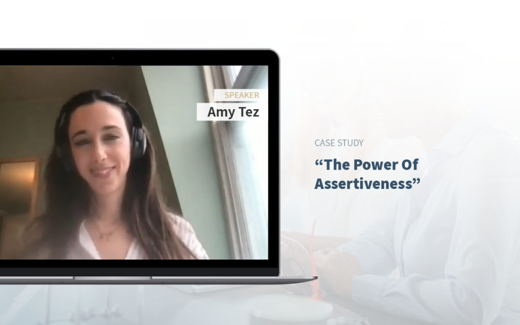 Executive Assistant Event - Amy Tez - Executive Asisstants and The skill of Assertivness.