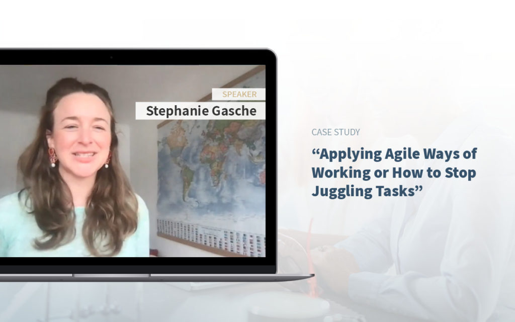 Executive Assistant Event -Stephanie Gasche - Executive Asisstants and agile ways of working.