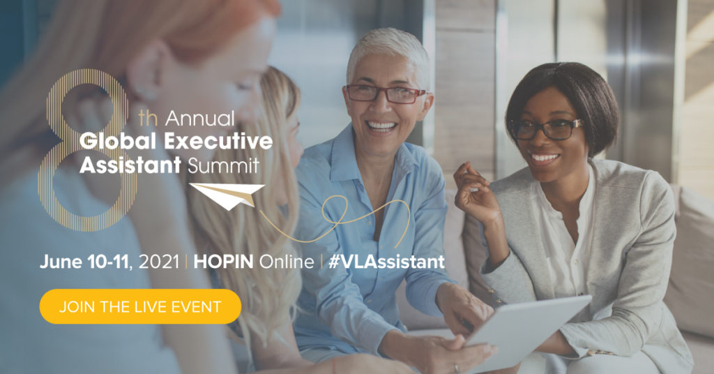 Executive Assistant Event in June 2021 Online