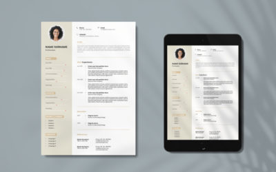 Looking For a 🆓 Fully Customizable CV Template for Assistants? Look No More. We Got You Covered. ✔️